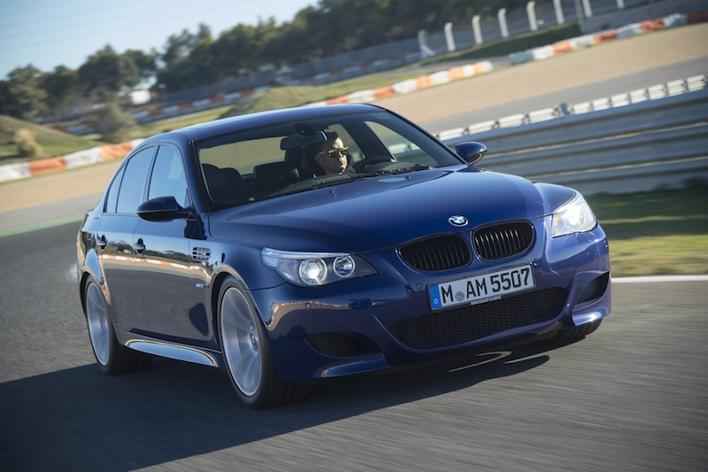 2005 BMW M5 E60 estoril track