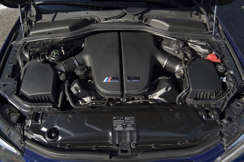 2005 BMW M5 E60 v10 engine bay