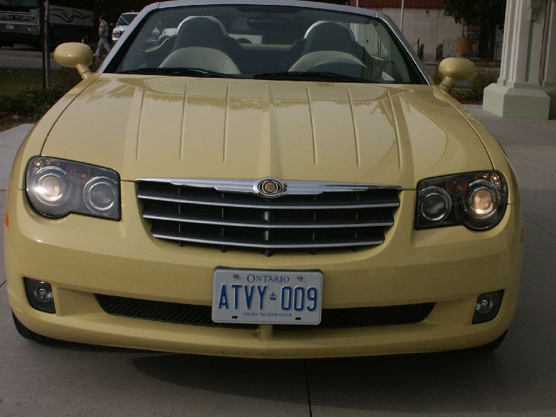 Canadian Auto Review 2005 Chrysler Crossfire Roadster Photos