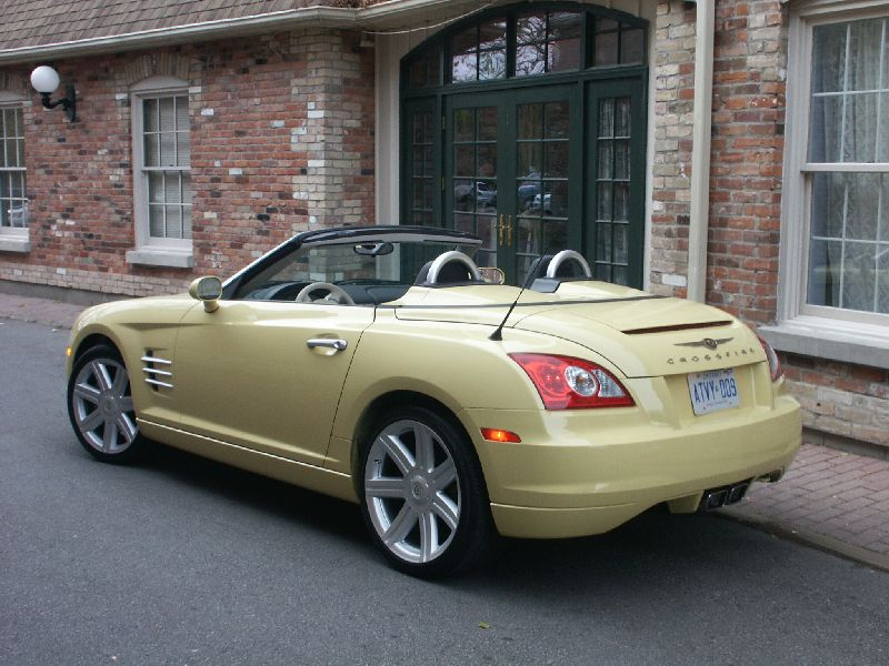 canadian auto review 2005 chrysler crossfire roadster photos. Cars Review. Best American Auto & Cars Review