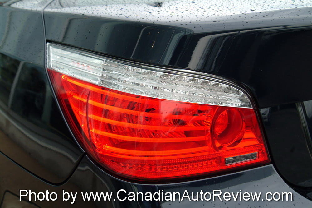 2008 BMW 550i Black taillights