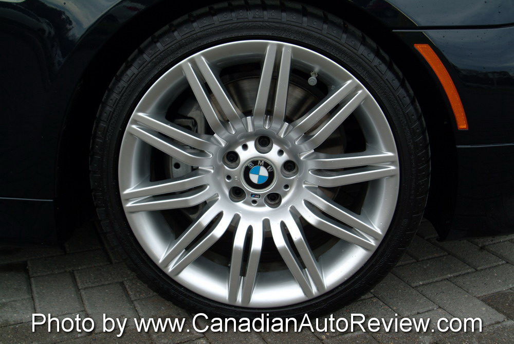 2008 BMW 550i Black wheels rims tires