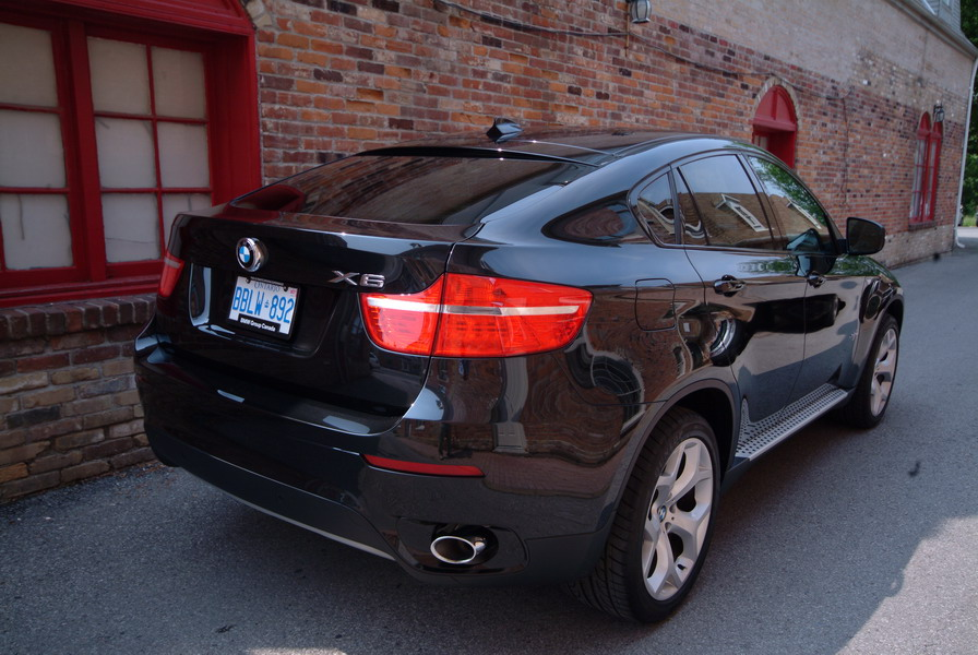 2008 BMW X6 xDrive35i Black rear