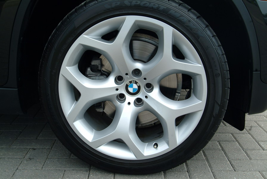 2008 BMW X6 xDrive35i Black wheels rims tires