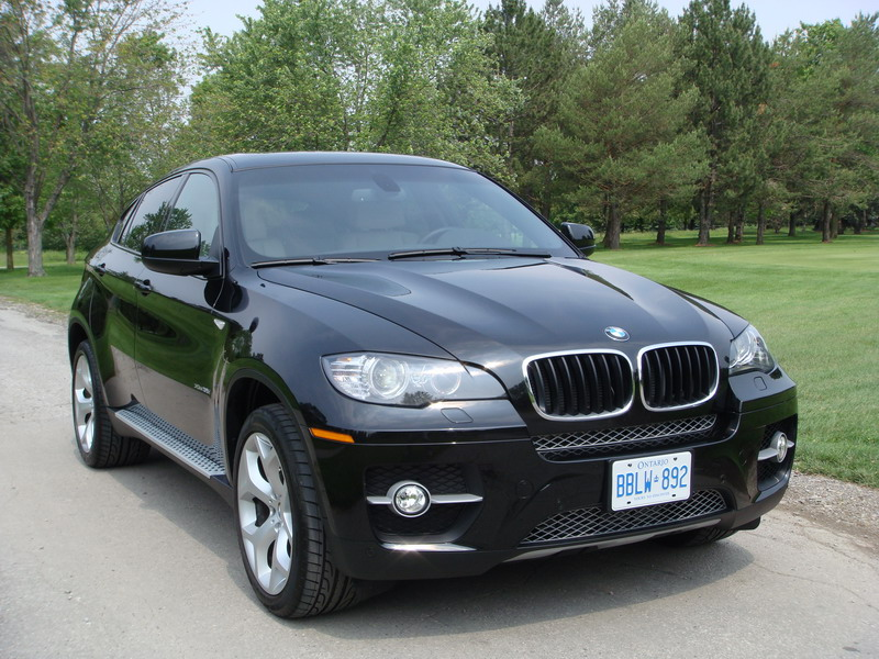 2008 BMW X6 xDrive35i Black