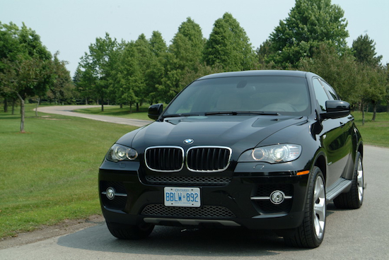 2008 BMW X6 xDrive35i Black front