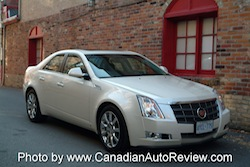 2008 Cadillac CTS White