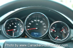 2008 Cadillac CTS White gauges