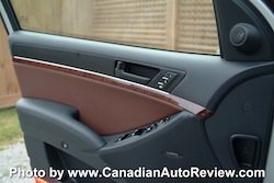 2008 Hyundai Vera Cruz Blue door panel