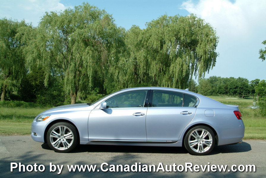 2008 Lexus GS450h Blue side