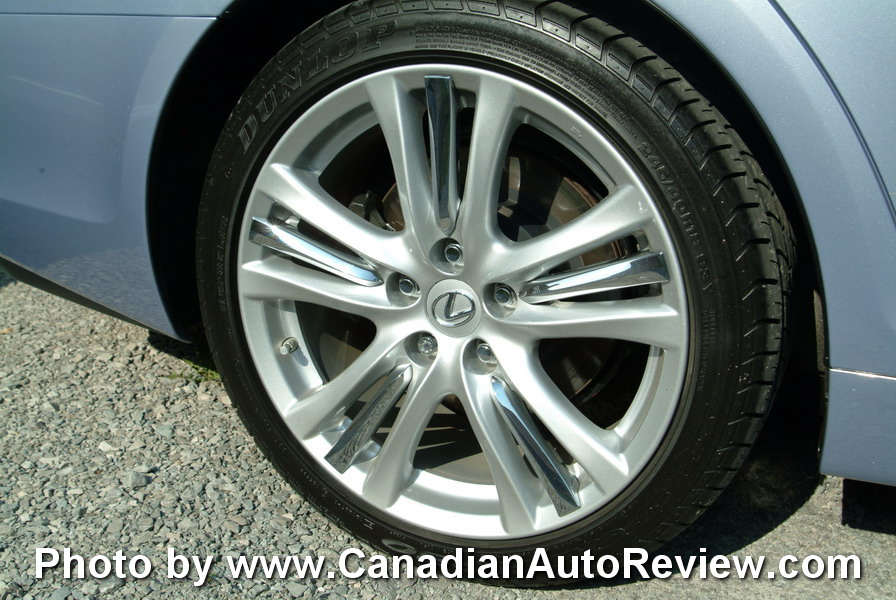 2008 Lexus GS450h Blue wheels rims tires