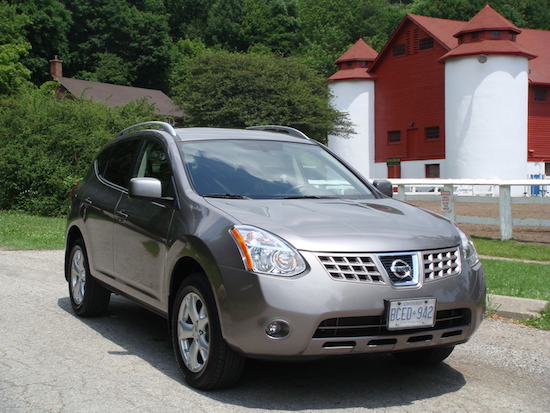 2008 Nissan Rogue Gray front