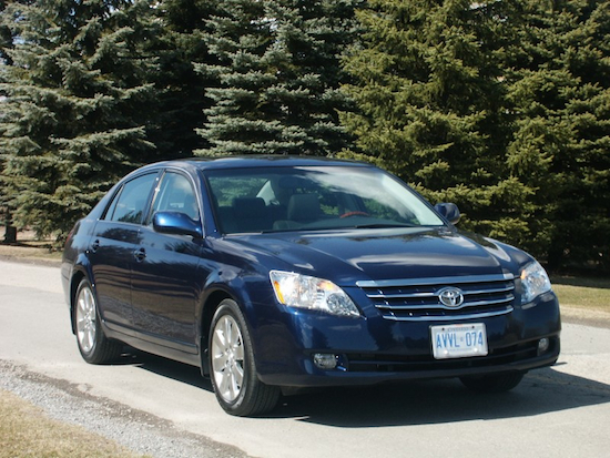 2008 Toyota Avalon Blue front