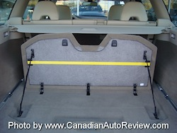 2008 Volvo XC70 Gray rear trunk storage fold up