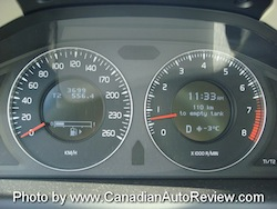 2008 Volvo XC70 Gray gauges