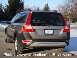2008 Volvo XC70 Gray rear