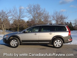 2008 Volvo XC70 Gray side