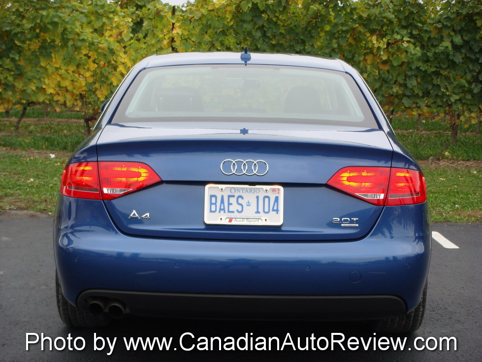 2009 Audi A4 3.2 Quattro Blue rear