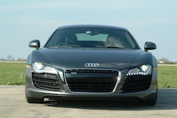 2009 Audi R8 Gray front