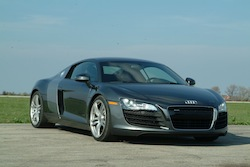 2009 Audi R8 Gray front view