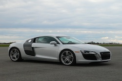 2009 Audi R8 Silver front