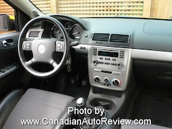 2009 Chevrolet Cobalt SS Yellow interior dash
