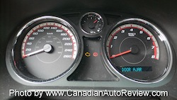 2009 Chevrolet Cobalt SS Yellow gauges
