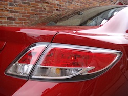 2009 Mazda 6 GS Red taillights