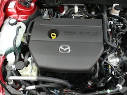 2009 Mazda 6 GS Red engine