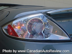 2009 Mitsubishi Eclipse GT Convertible Gray Green taillights
