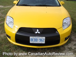 2009 Mitsubishi Eclipse GT Coupe Yellow front grill