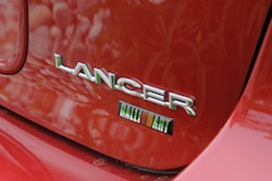 2009 Mitsubishi Lancer Sportback Ralliart Red badge