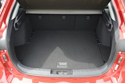 2009 Mitsubishi Lancer Sportback Ralliart Red trunk storage