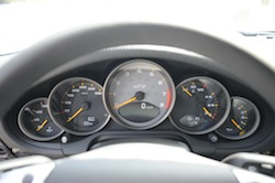 2009 Porsche 911 GT2 Black gauges