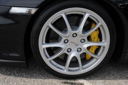 2009 Porsche 911 GT2 Black wheels rims tires
