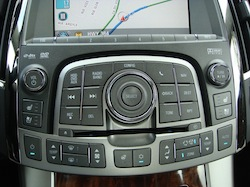 2010 Buick Lacrosse buttons
