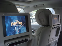 2010 Buick Lacrosse rear entertainment display system