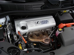 2010 Lexus HS250h White engine