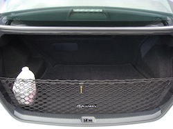 2010 Lexus HS250h White trunk storage space