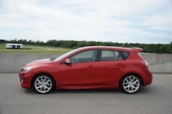 2010 Mazdaspeed 3 Red side