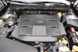 2010 Subaru Legacy 3.6R Black engine