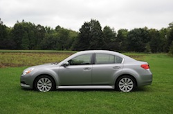 2010 Subaru Legacy 3.6R Gray side