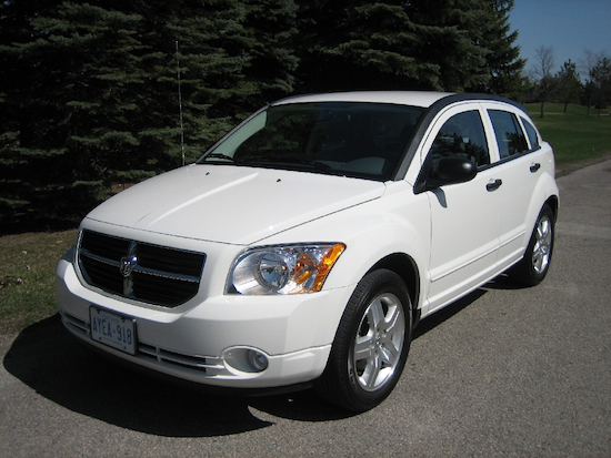 2011 Dodge Caliber White front