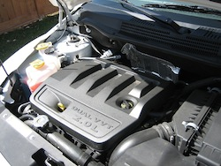 2011 Dodge Caliber White engine