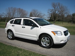 2011 Dodge Caliber White
