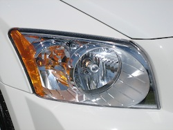 2011 Dodge Caliber White headlights