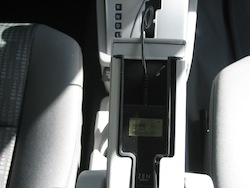 2011 Dodge Caliber White center console outlets