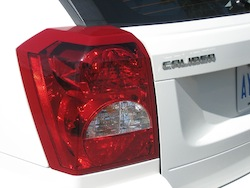 2011 Dodge Caliber White rear taillights