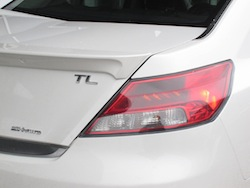 2012 Acura TL SH-AWD Elite White taillights
