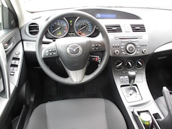 2012 Mazda 3 GS White interior